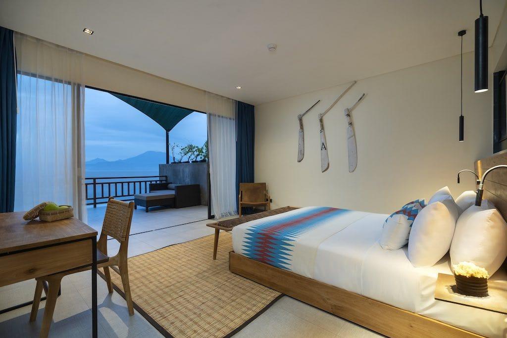 Adiwana Warnakali Hotel room Nusa Penida Bali