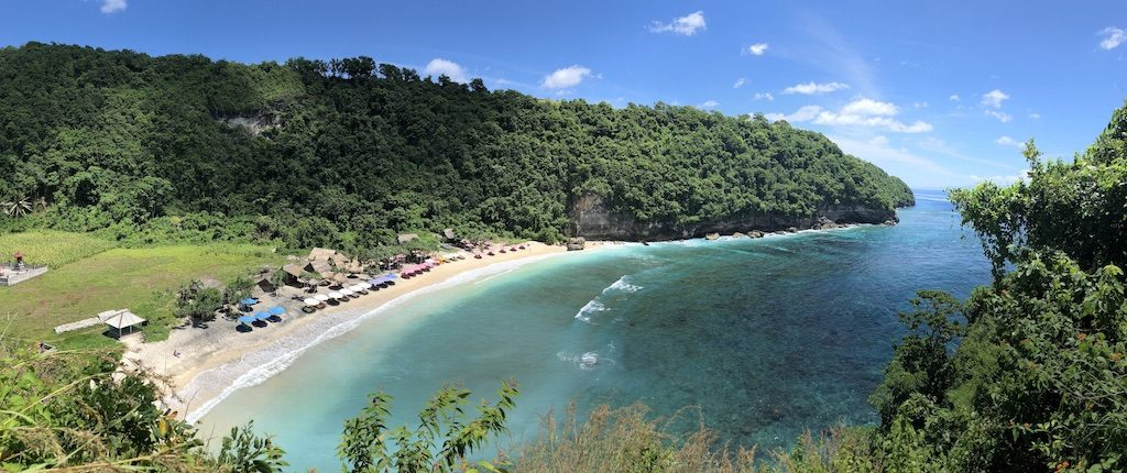 Atuh Beach right side Nusa Penida