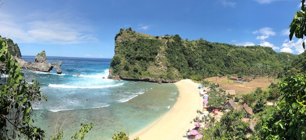 Atuh Beach left side Nusa Penida