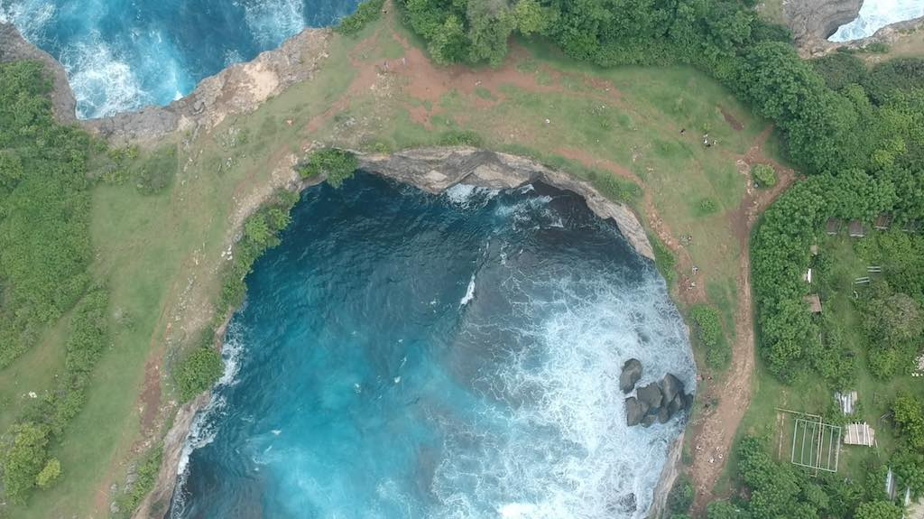 Broken Beach Eagle View Nusa Penida