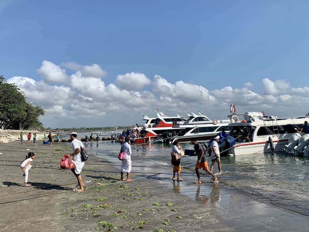 How to get to Nusa Penida from Bali boarding in Sanur