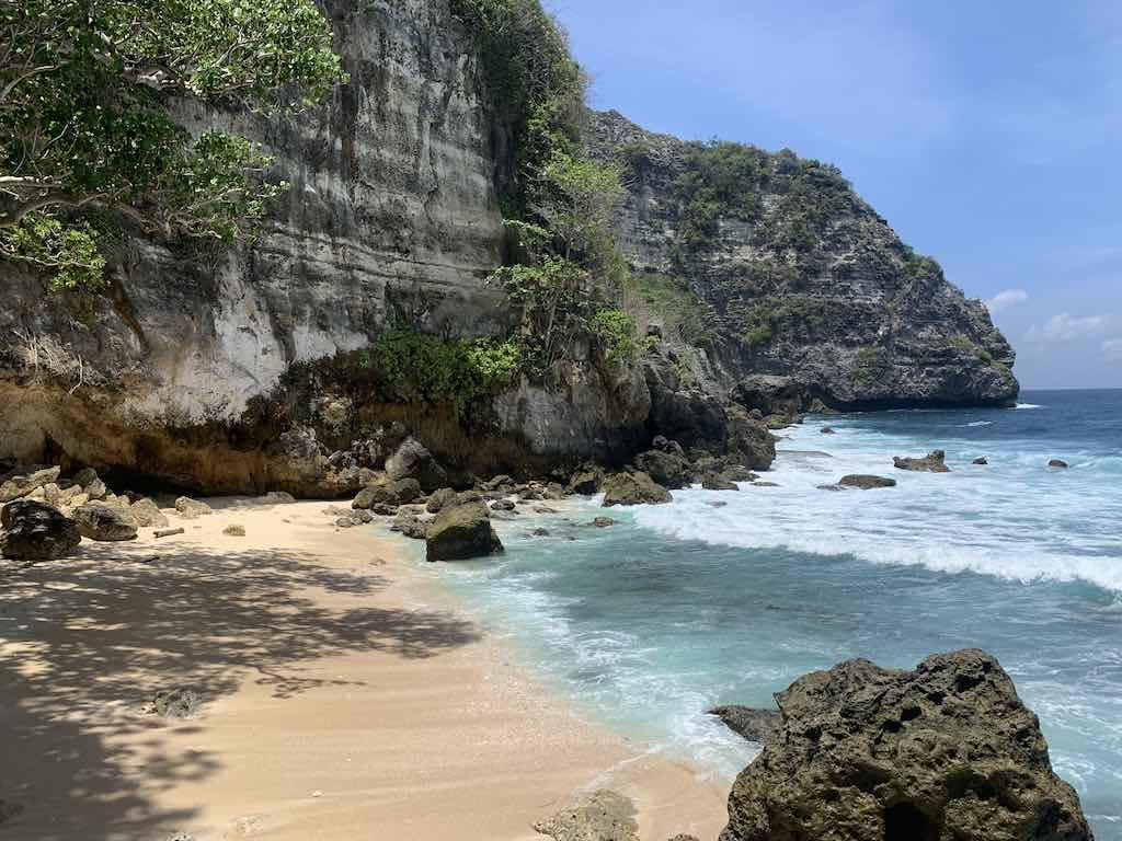 Tembeling Beach and Forest Nusa Penida Bali