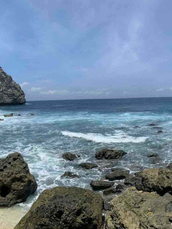 Temeling Beach and Forest Nusa Penida Bali
