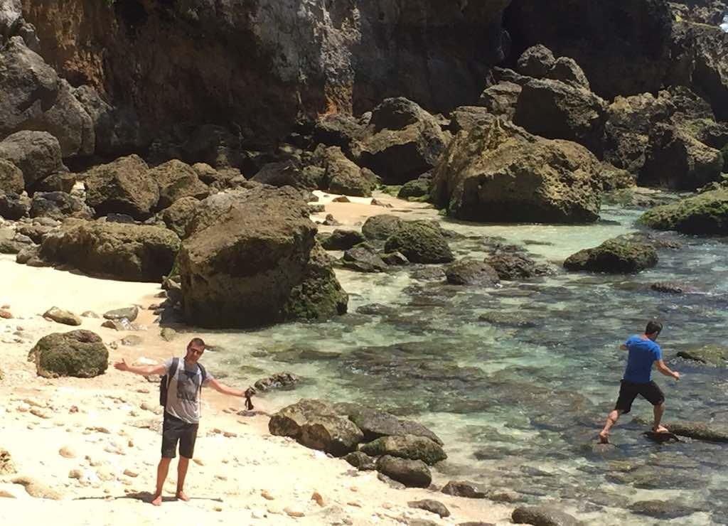 Temeling Nusa Penida Bali Left Beach