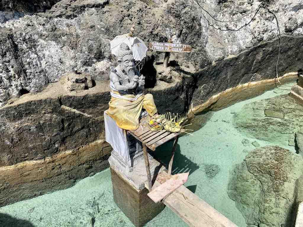 Guyangan Waterfall Nusa Penida Bali Segara Kidul Temple