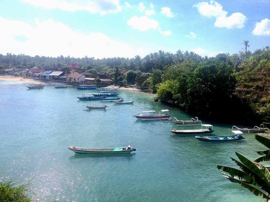 Toya pakeh Harbour Nusa Penida Bali