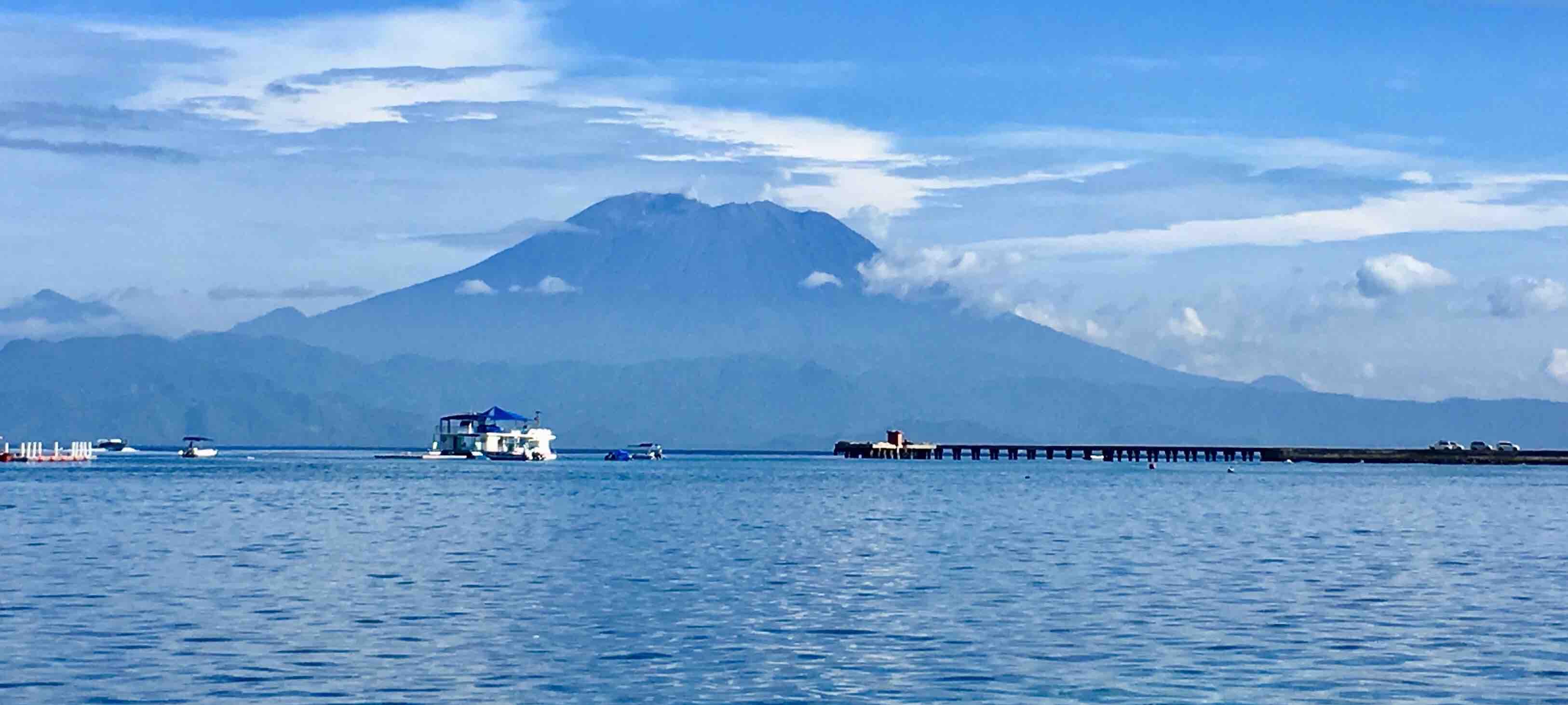 Toyapakeh ferry arrival Nusa Penida