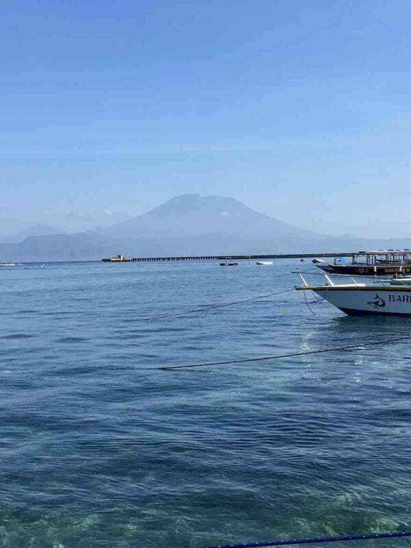 Toyapakeh port harbour Nusa Penida