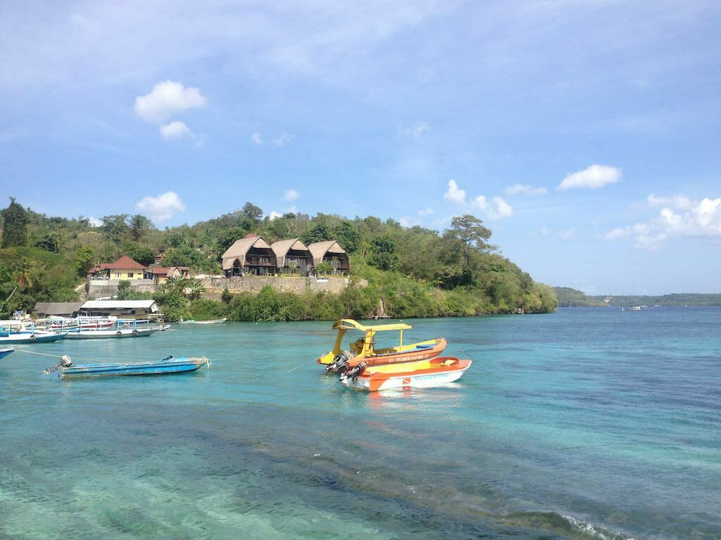 port Toyapakeh Nusa Penida Bali