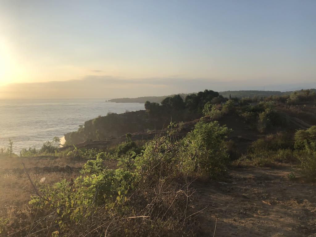 Before sunset Nusa Penida Bali