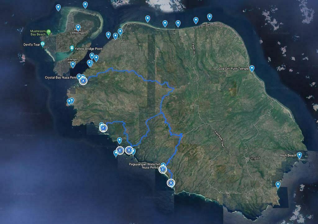 Rencana Perjalanan 2 Nusa Penida Bali