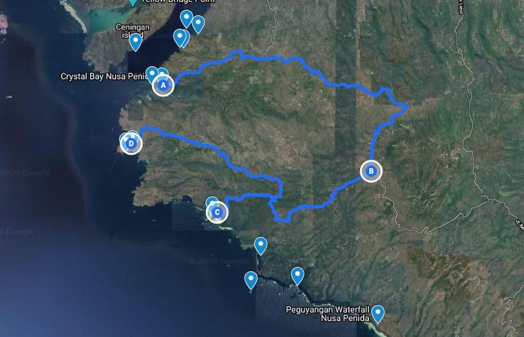 Itinerary 3 Nusa Penida Bali