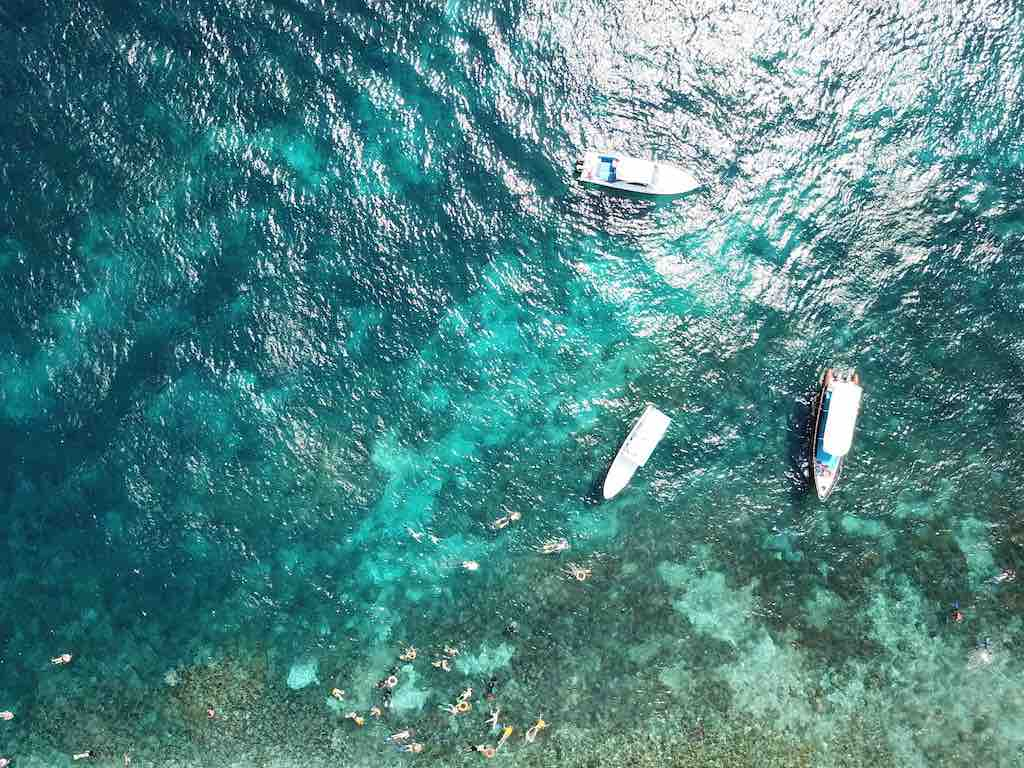 Snorkeling in Nusa Penida at Toyapakeh