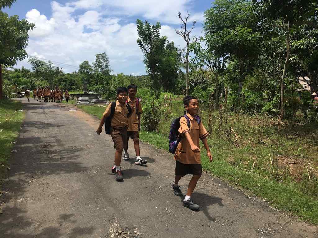 Walking in Nusa Penida Bali