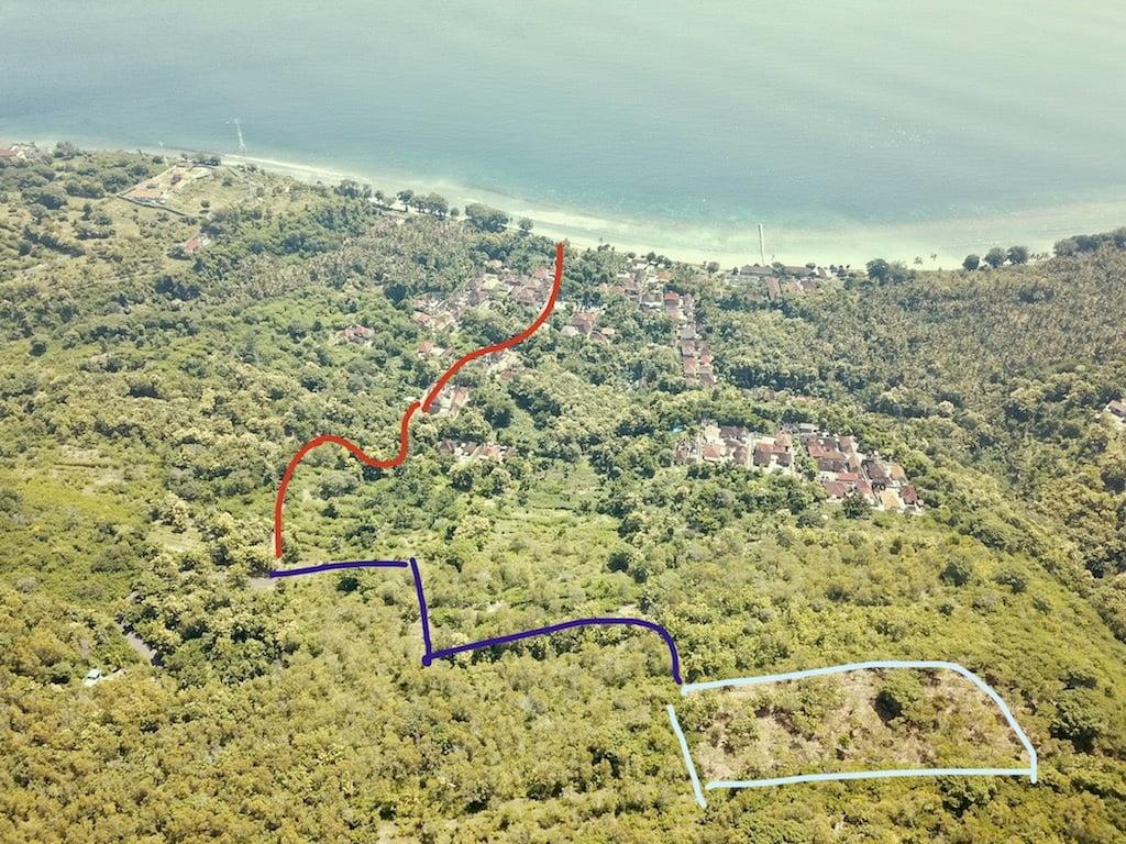 Tanah dijual di Desa Suana Nusa Penida