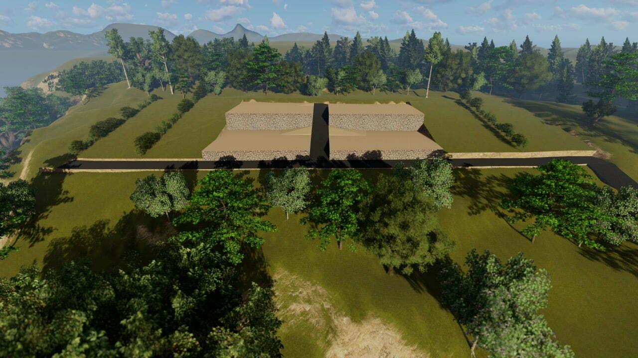 tanah dijual nusa penida plot kavling 3D